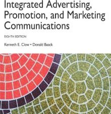 Integrated Advertising, Promotion and Marketing Communications 8th Edition Book