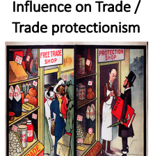 Governmental Influence on Trade / Trade protectionism