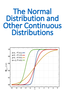 Teaching resources for The Normal Distribution and Other Continuous Distributions