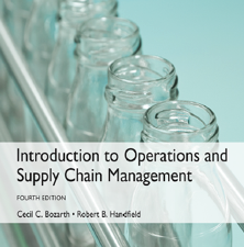 Introduction to Operations and Supply Chain Management 4th Edition by Cecil B. Bozarth, Robert B. Handfield