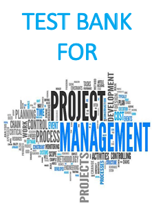 Test bank for project management