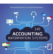 Test Bank for Acounting Infromation System 14th Edition by Marshal B. Romney, Paul J. Steinbart