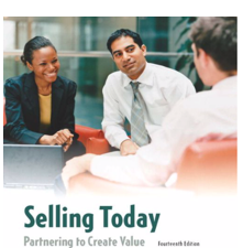 Test Bank for Selling Today: Partnering to Create Value 14th Edition