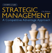 Test bank for Strategic Management A Competitive Advantage Approach, Concepts and Cases 17th Edition book