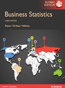 Business Statistics Global 3rd Edition Book by Norean D. Sharpe, Richard D. De Veaux, Paul F. Velleman