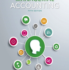 Managerial Accounting 5th Edition Book