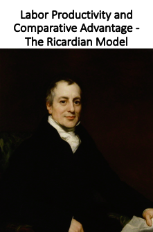 Labor Productivity and Comparative Advantage - The Ricardian Model