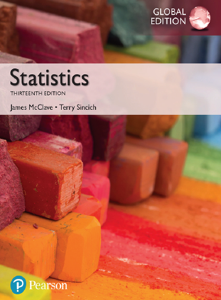 Statistics Global 13th Edition Book by By James McClave, Terry Sincich