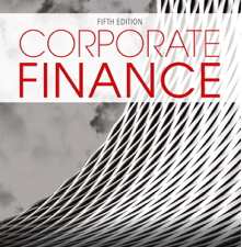 Test Bank for Corporate Finance 5th Edition
