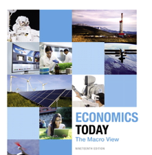 Test Bank for Economics Today The Macro View 19th Edition
