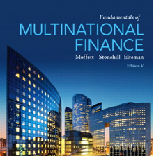 Test Bank for Fundamentals of Multinational Finance 5th Edition Book