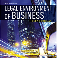Test Bank for Legal Environment of Business 9th Edition