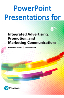 PowerPoint Presentation for Integrated Advertising, Promotion, and Marketing Communications 8th Edition Book