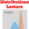 Probability Distributions Lecture (Elementary Statistics Module)