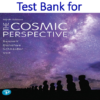 Test bank for the Cosmic Perspective 9th Edition by Jeffrey O. Bennett, Megan O. Donahue, Nicholas Schneider, Mark Voit