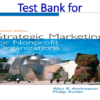 Test Bank for Strategic Marketing for Non-Profit Organizations 7th Edition by Alan R Andreasen, Philip T. Kotler