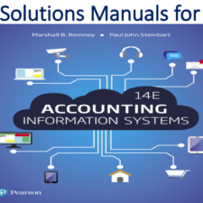 Solutions Manual for Accounting Information Systems 14th Edition