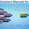 Solutions Manual for Fundamentals of Corporate Finance 4th Edition by Jonathan Berk, Peter DeMarzo, Jarrad Harford