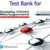 Test Bank for Supply Chain Management Strategy, Planning, and Operation 7th Edition by Sunil Chopra