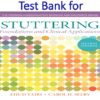 Test Bank for Stuttering Foundations and Clinical Applications 2nd Edition by Ehud H. Yairi, Carol H. Seery