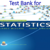 Test Bank for A First Course in 11th Edition by James T. McClave, Terry Sinich