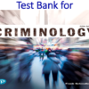 Test Bank for Criminology 5th Edition by Frank Schmalleger