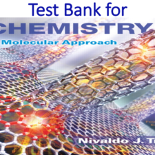 Test Bank for Chemistry A Molecular Approach 4th Edition by Nivaldo J. Tro