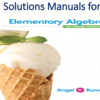 Solutions Manual for Elementary Algebra For College Students 9th Edition by Allen R. Angel, Dennis Runde