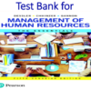 Test Bank for Management of Human Resources The Essentials 5th Canadian Edition