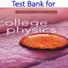 Test Bank for College Physics A Strategic Approach 3rd Edition by Randall D. Knight, Brian Jones, Stuart Field