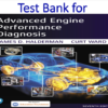Test Bank for Advanced Engine Performance Diagnosis 7th Edition by James D. Halderman