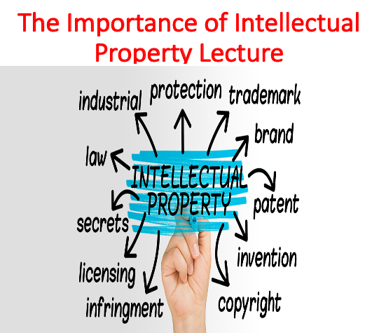 The Importance of Intellectual Property Lecture