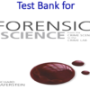 Test Bank for Forensic Science From the Crime Scene to the Crime Lab 3rd Edition by Richard Saferstein