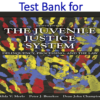 Test Bank for The Juvenile Justice System, Delinquency, Processing, and the Law 8th Edition by Alida V. Merlo, Peter J Benekos, Dean J. Champion