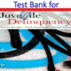 Test Bank for Juvenile Delinquency 10th Edition by Clemens Bartollas, Frank Schmalleger, Michael Turner