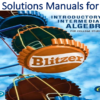 Solutions Manual for Introductory and Intermediate Algebra for College Students 6th Edition by Robert F. Blitzer