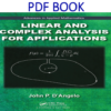Linear and Complex Analysis for Applications 1st Edition PDF Book by John P. D`Angelo