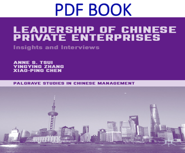 Leadership of Chinese Private Enterprises Insights and Interviews 1st Edition PDF Book