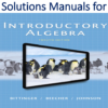 Solutions Manual for Introductory Algebra 12th Edition by Marvin L. Bittinger, Judith A. Beecher, Barbara L. Johnson