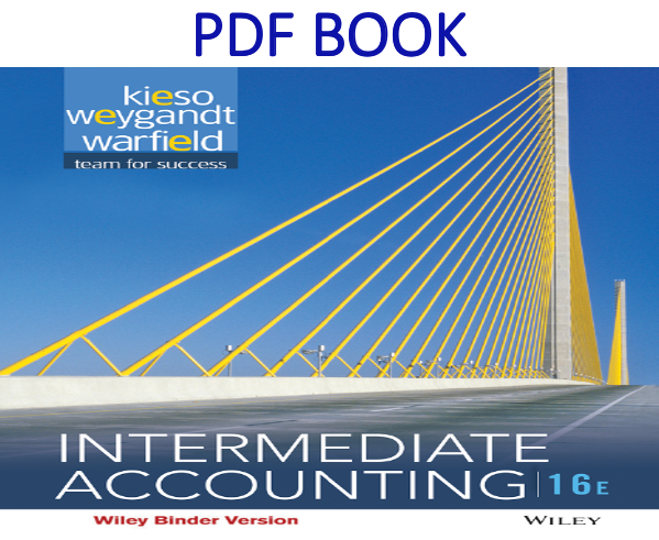Intermediate Accounting 16th Edition PDF Book