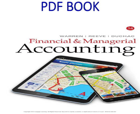 Financial & Managerial Accounting 14th Edition PDF Book