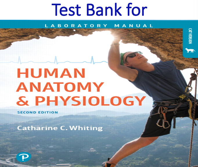 Test Bank for Human Anatomy & Physiology Laboratory Manual Making Connections Cat Version 2nd Edition