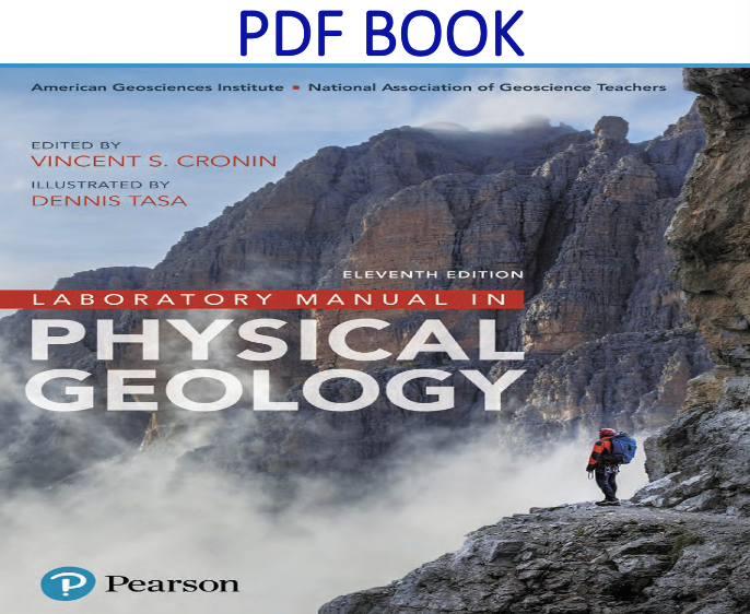 Laboratory Manual in Physical Geology 11th Edition PDF Book