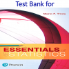 Test Bank for Essentials of Statistics 6th Edition by Mario F. Triola