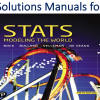 Solutions Manual for Stats Modeling the World 5th Edition by David E. Bock, Paul F. Velleman, Richard D. De Veaux, Floyd Bullard