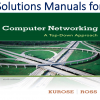 Solutions Manual for Computer Networking A Top-Down Approach 6th Edition by James Kurose, Keith W. Ross