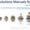 Solutions Manual for Contemporary Mathematics for Business & Consumers 9th Edition by Robert Brechner, Geroge Bergeman