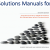 Solutions Manual for Contemporary Mathematics for Business and Consumers7 Edition by Robert Brechner, Geroge Bergeman
