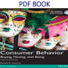 Consumer Behavior Buying, Having, and Being 12th Global Edition PDF Book