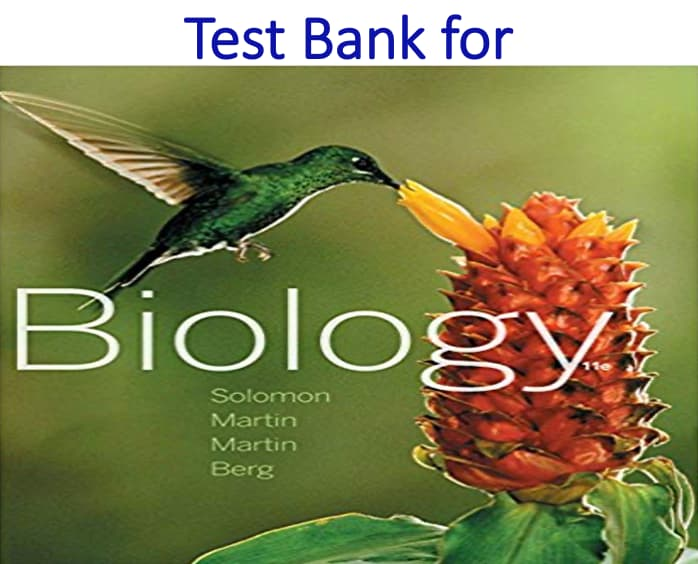 Test Bank for Biology 11th Edition